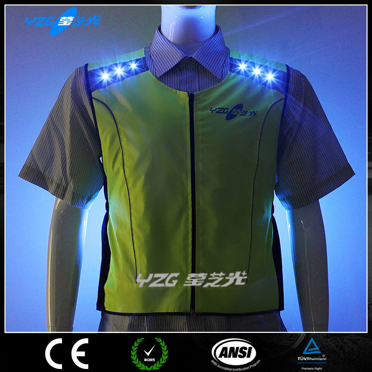 New Products Motorcycles wholesale name brand clothing with LED light EN471