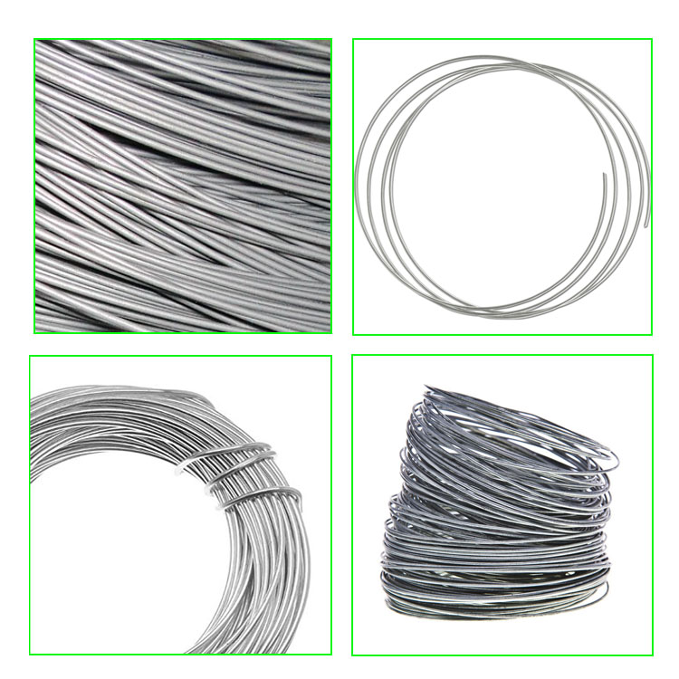 ISO factory galvanzized iron wires for Conductor