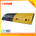 for Parking lot 1000*350*70 MM Road Rubber Speed Bump