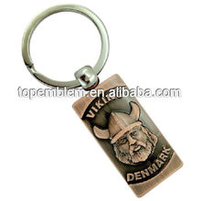 Viking antique keychain
