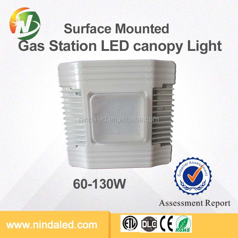 Brightest new design UL CSA DLC Canopy led light for gas station