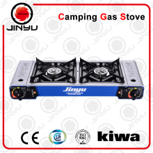 Manufacturer China wholesale indoor gas stove 2 burner