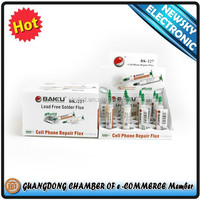 BAKU New product BK-227 mini mobile phone leed free Solder flux Paste