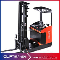 Large battery 48V forklift truck Electric Reach Truck
