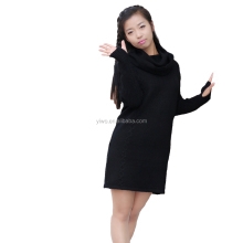 Black color new style latest design ladies sweater