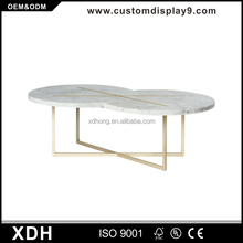Modern fancy design tea table onyx marble coffee tables
