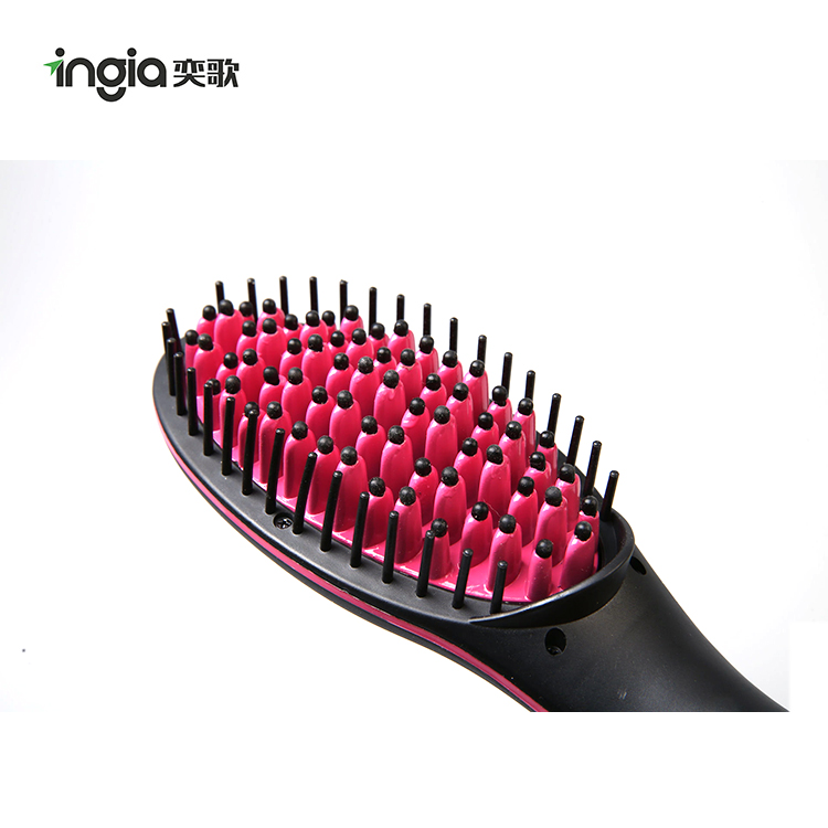 High Quality Functional Electric Fast Magic Straight Hair Brush for Home Use