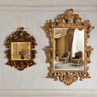 PU671 New Designed Antique Style Gold Wall Mirror