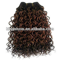 "Best afro kinky human hair 24"" human hair weft weave"
