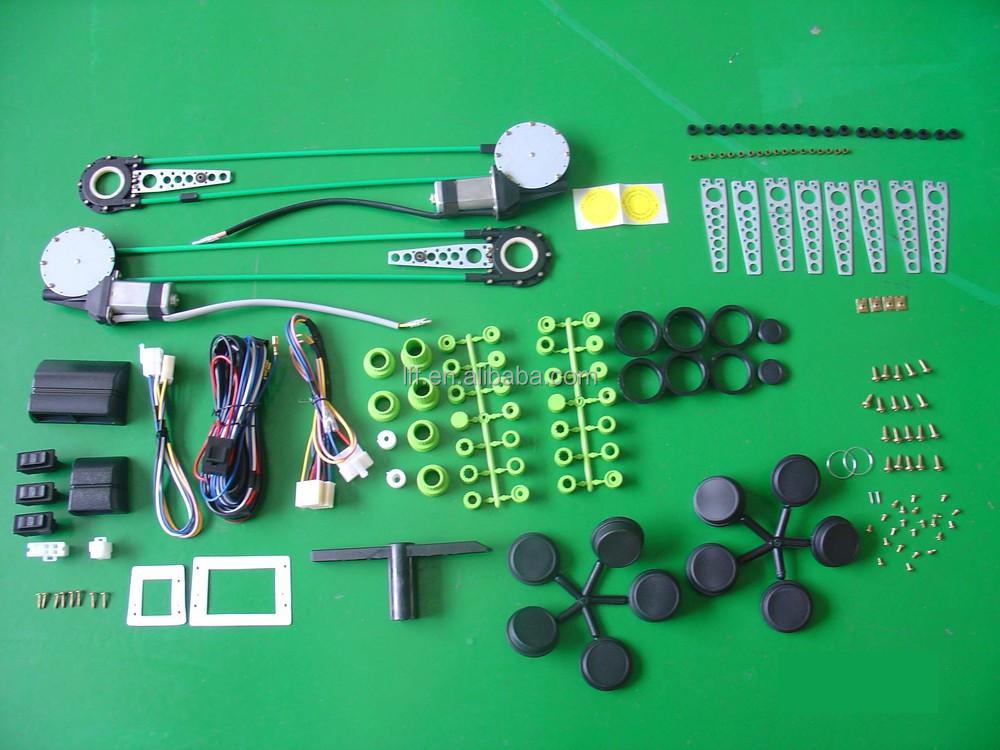 Universal 4-door Car Power Window Kit