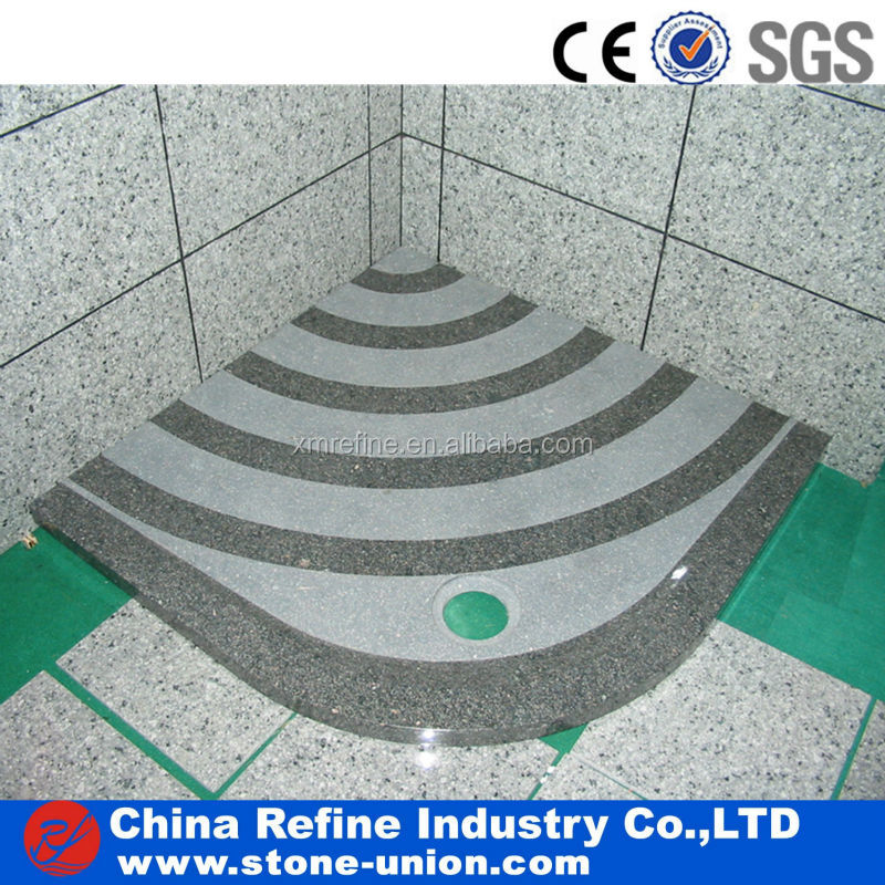 top quality slate shower trays price in China