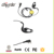2016 Quality noise cancelling two way radio cheap earphones with mic
