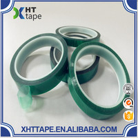 3M 851 high temperature Pet tapes green polyester film tapes for printed circuit board