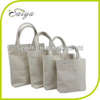 Organic cotton canvas bag for promotion