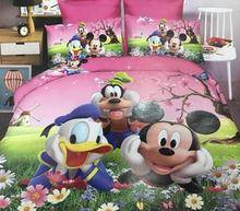 Kids Cartoon Single Size Luxury 3pc Duvet Cover ,character Comforter 3d bedding <strong>set</strong>.