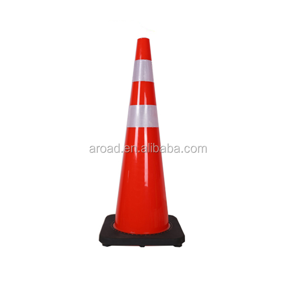 flexible pvc 900mm traffic cones for sale