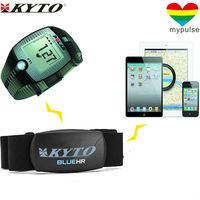 Bluetooth Smart combo heart rate chest belt / Clip on heart rate sensor