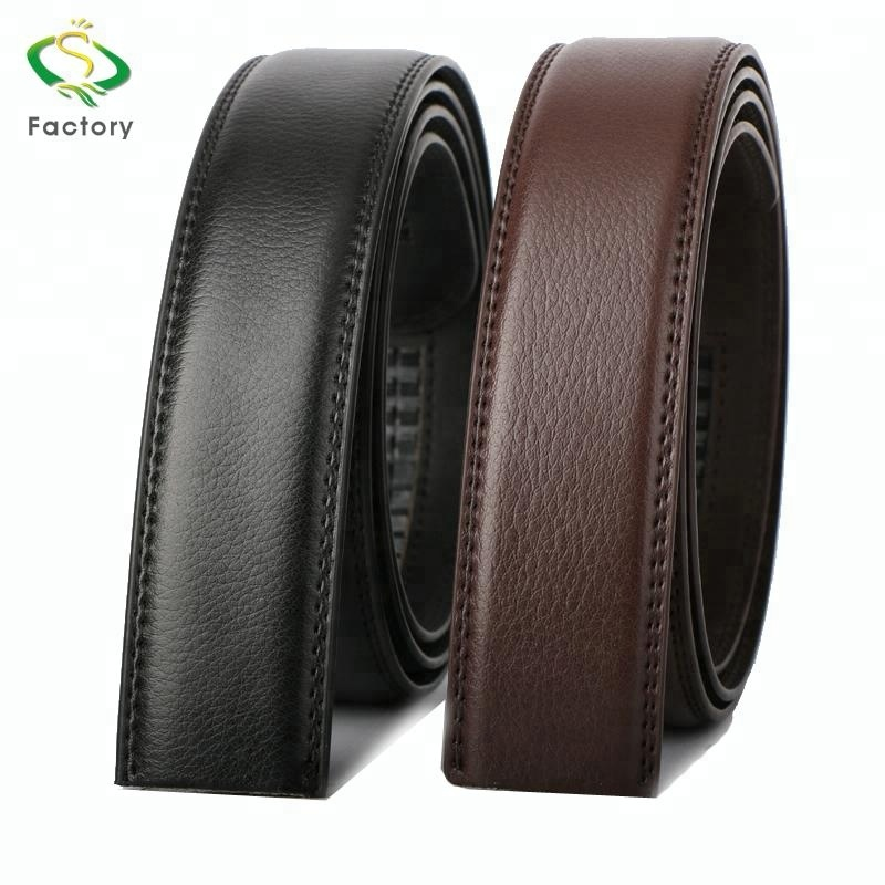 Wholesale custom logo fashionable man leather <strong>belt</strong> without the buckle