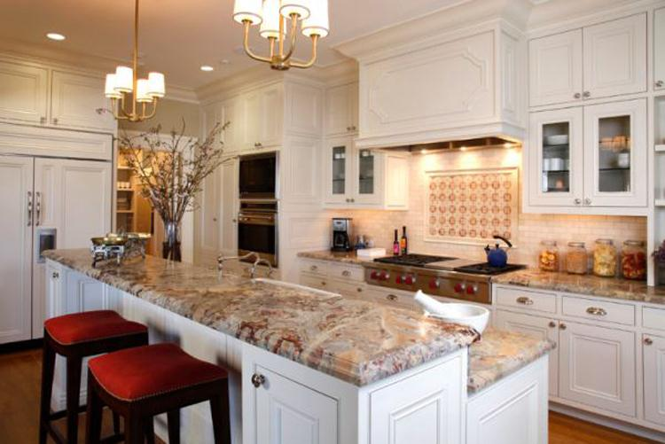 Decorative home natural stone different kinds of granite countertops