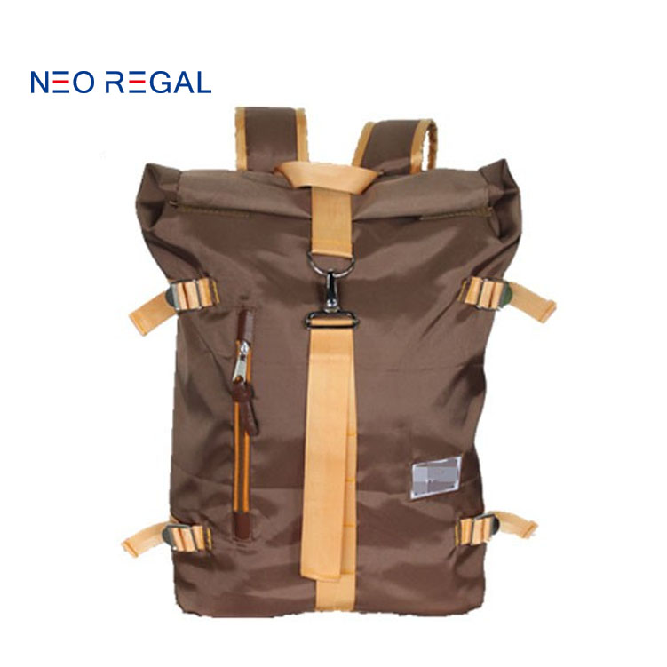 Nylon camel active sport leisure backpack