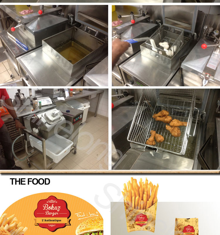 Guadeloupe Fast food BKB Restaurant Kitchen Project By Shinelong
