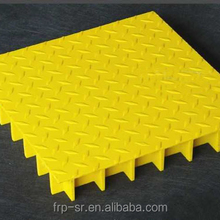 High strength frp Grp covered grating