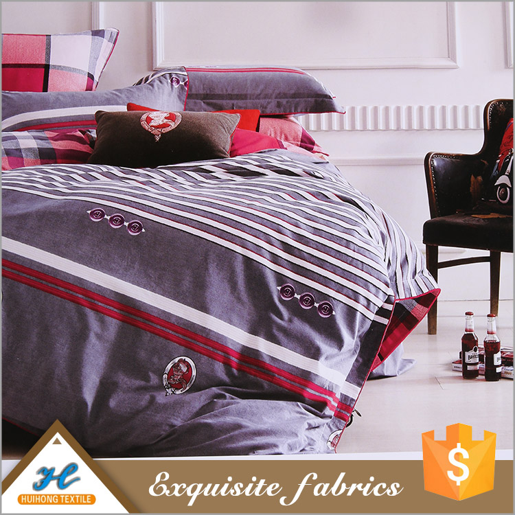 china wholesale 10 years experience 100 polyester bed sheet microfiber polyester printed fabric
