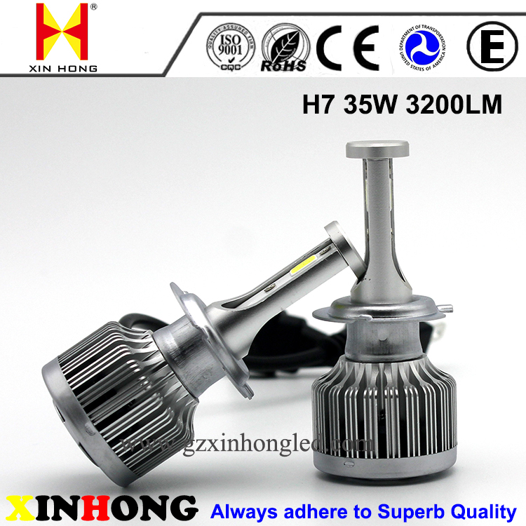 Auto parts ip 68 cars led bulb lighting 35W 55W used H1 H4 H7 H11 9004 9005 headlights for honda accord
