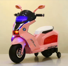 Ride on car children toy plastic material mini kids electric motorcycle for girl
