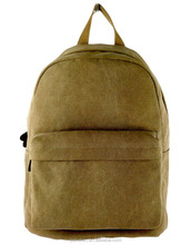 High School Backpack Cotton Canvas Backpack 2017 School bags