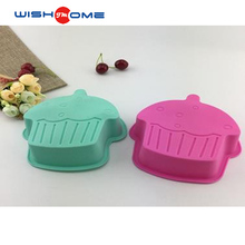 JianMei Brand custom color Ice Cream shape wholesale food grade multi kitchen Silicone Cake Mold