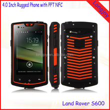 4 inch Touch Screen Rugged IP67 Waterproof Android 4.2 Walkie Talkie Phone with NFC GPS