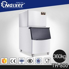 2017 popular small ice makers commercial cube ice making machines 1400W