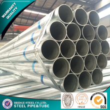 BS 1139 Construction material ASTM A53 galvanized steel pipe,GI steel tubes Zn coating 60