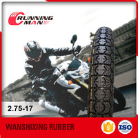 China Famous Brand Chinese Tyre For Motorcycle 2.75-17