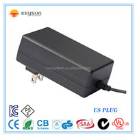 power adapter 15v 1500mA AC DC power supply with ul cul ce rohs saa fcc kc