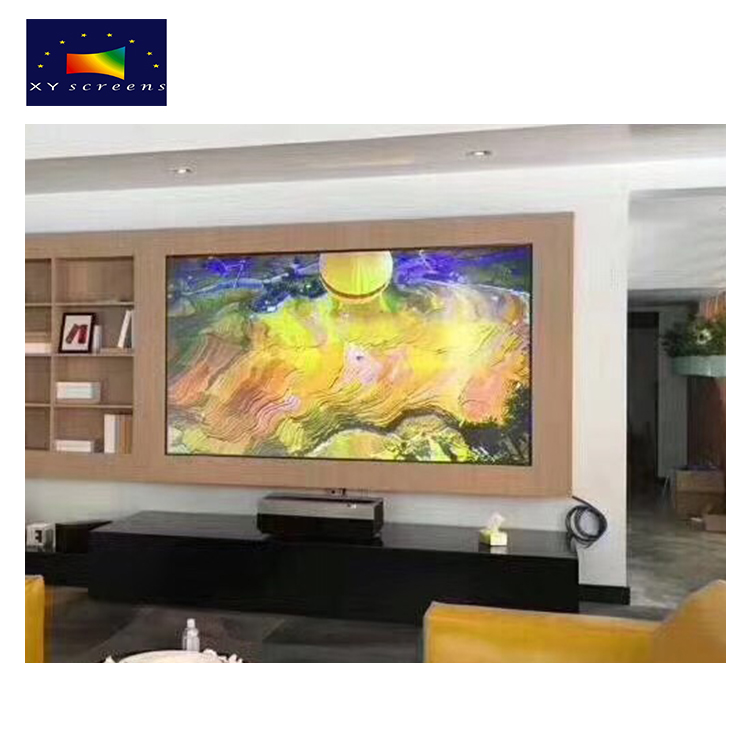 Parts For 80 Inch 92 Inch 100 Inch Cinema Projector Screen Price