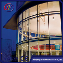 Beijing Haiyangshunda Heat Resistant and high strength Curved Tempered Glass For Balcony Windows,10mm 12mm 15mm 19mm