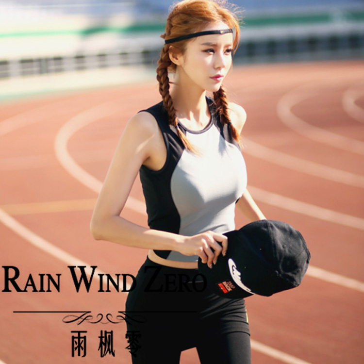 2017 new arrivals high quality quick dry activewear polyester women singlet