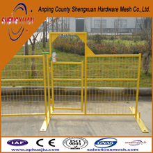 removable wire fence / removable iron fence / outdoor fence temporary fence /