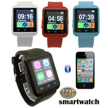 U8 bluetooth wrist watch phone mate,android watch phone without camera