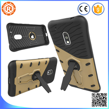 New free samples dropship dual layer high impact phone case cover for MOTO G4 play