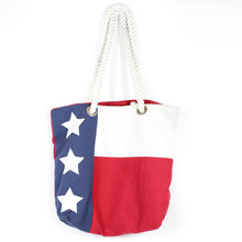 Wholesale Reusable Canvas Shopping Tote Bag For July 4th