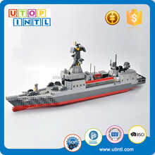 New ABS Plastic DIY 178 Destroyer Model Corps Building Block toys for kids