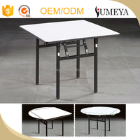 High quality folding banquet table foldable wooden folding restaurant table