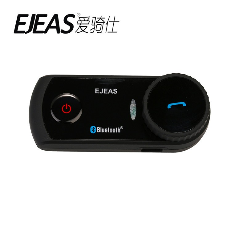 EJEAS E2 Wholesale Motorcycle Accessories Bluetooth Intercom/Interphone for 4 person use 1200m talking distance