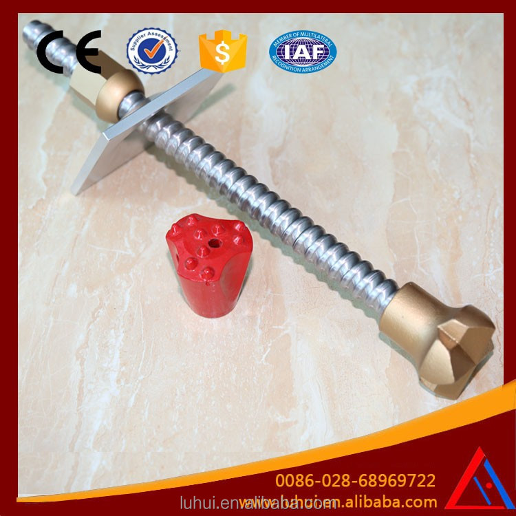 Tunneling Self Drilling Grouting Pipe Anchor