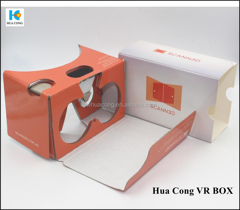 2015 popular product 3d glasses glasses type google cardboard vr 3d glasses