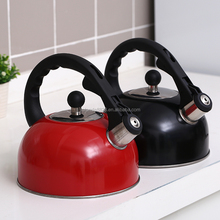 Factory direct family camping whistling water kettle