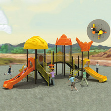 Plastic Outdoor Playground Equipment Play Structure